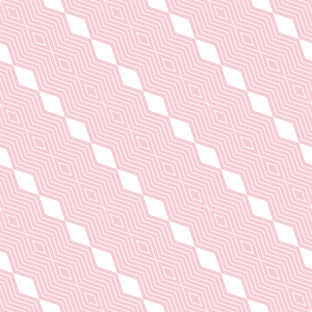 Seamless pattern. Modern stylish texture. Regularly repeating diagonal geometrical ornament with thin zigzag lines, rhombuses. Vector element of graphical design Stock fotó - 123982836