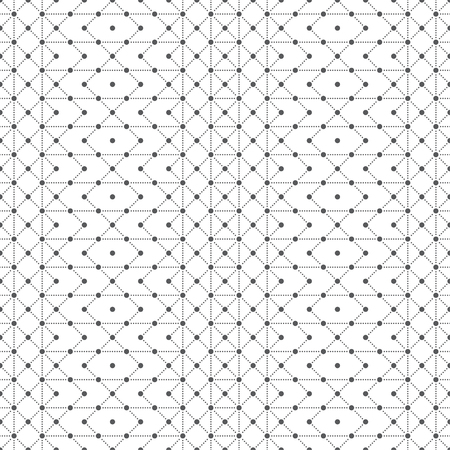 Seamless pattern. Abstract small dotted textured background. Modern stylish texture with regularly repeating geometrical shapes, small dots, dotted, rhombuses, hexagons, zigzags, squares.