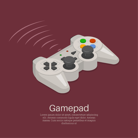 Device for video games. Wireless equipment, controller.