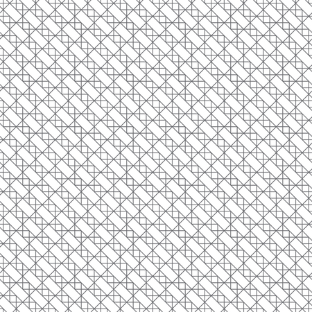 Seamless pattern. Modern stylish texture. Regularly repeating linear rectangle shapes, rhombuses, triangles. Illusztráció