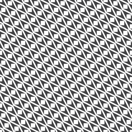 Seamless pattern. Modern stylish texture. Regularly repeating geometrical diagonal shapes with rhombuses, triangles, squares.