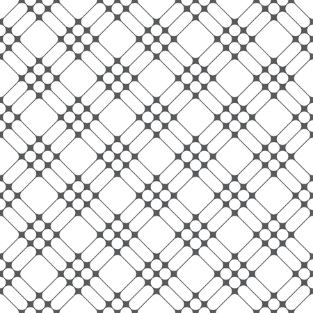 Seamless pattern. Modern stylish texture. Regularly repeating traditional geometrical tiles with rhombuses, diamonds, thin lines, dots.  イラスト・ベクター素材