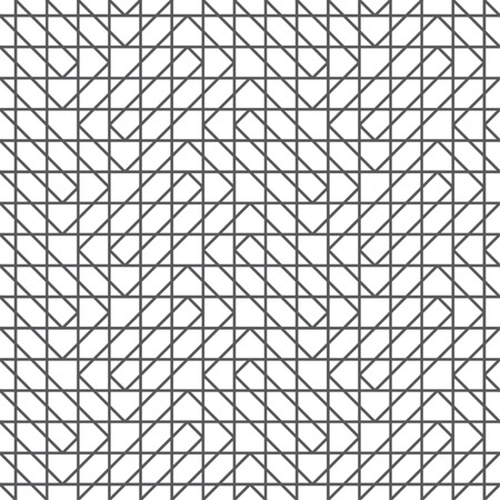 Seamless pattern. Modern stylish geometrical texture. Regularly repeating rectangle shapes, squares, hexagons, triangles.