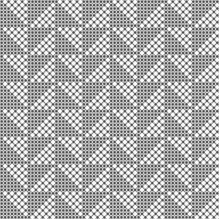 Seamless pattern. Modern elegant texture. Regularly repeating geometrical ornament consisting of rhombuses, dots, dotted triangles. Vector element of graphical design Stock Illustratie