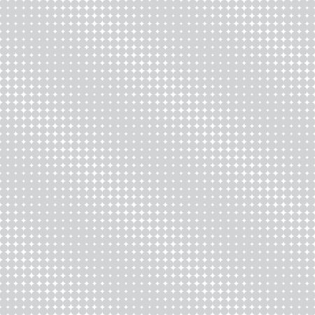 Vector seamless pattern. Abstract halftone background. Modern stylish texture. Repeating grid with rhombuses of the different size. Gradation from bigger to smaller. Imagens - 124975938