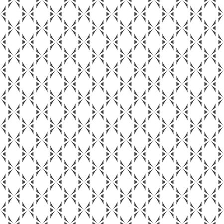 Vector seamless pattern. Abstract small textured background. Classical stylish repeating geometrical texture with repetition crosses, triangles. Surface for wrapping paper, shirts, cloths.