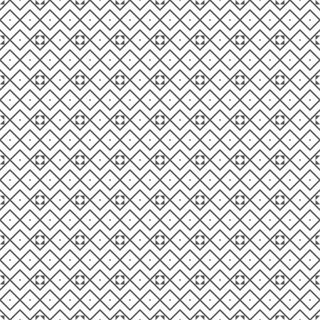 Seamless pattern. Infinitely repeating stylish elegant texture consisting of linear rhombuses, triangles. Abstract geometrical textured background. Vector element of graphical design