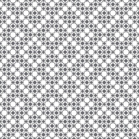 Seamless pattern. Modern stylish texture. Infinitely repeating geometrical texture. Traditional tiles with dots, crosses, rhombuses. Vector element of graphical design