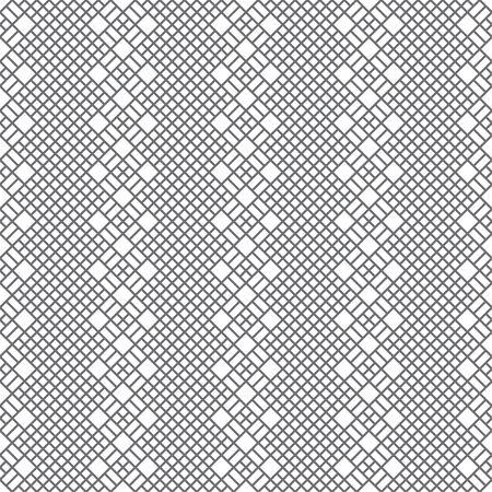 Vector seamless pattern. Trendy geometric texture. Modern linear ornament. Regularly repeating geometrical rhombus tiles with thin lines. Illusztráció