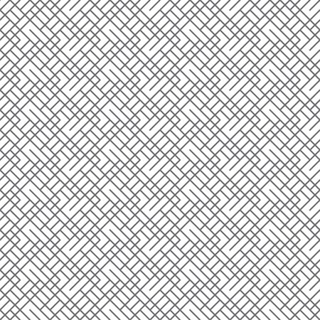Seamless pattern. Infinitely repeating stylish elegant texture consisting of linear grid, rhombuses, rectangles. Abstract geometrical textured background. Vector element of graphical design