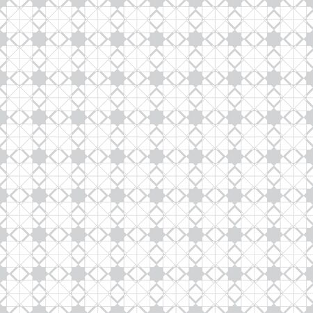 Vector seamless pattern. Modern continuously repeating geometrical texture with regular repetition stars, square shapes, thin crossed lines. Contemporary design