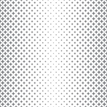 Vector seamless pattern. Abstract halftone background. Modern stylish texture with regularly repeating rhombuses, diamonds of the different size. Contemporary design Illusztráció
