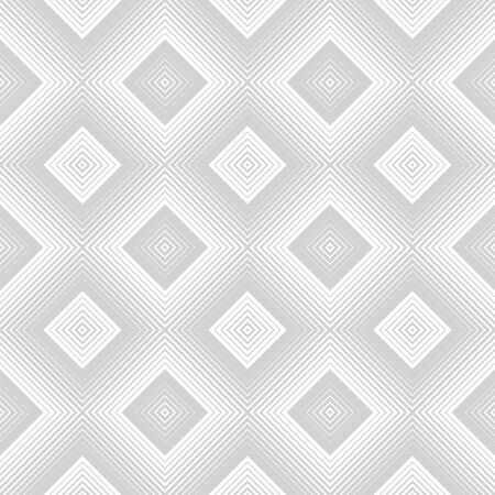 Vector seamless pattern. Stylish modern texture with constant repetition rhombuses, diamonds. Geometrical background. Contemporary design.