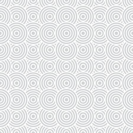 Vector seamless pattern. Modern elegant texture with regularly repetition geometrical shapes, arcs, circles, dots. Illustration