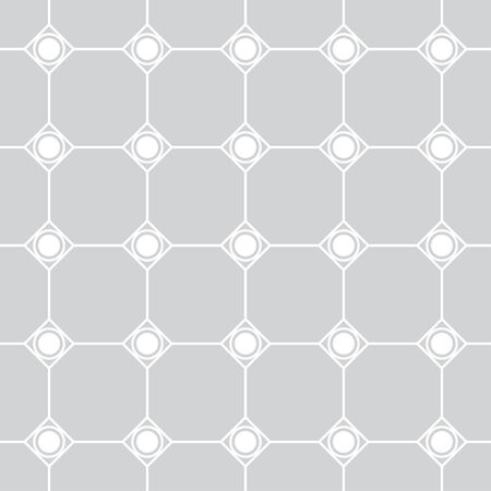 Seamless pattern. Modern stylish texture. Regularly repeating linear polygons, rhombuses, dots. Vector element of graphical design