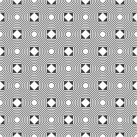 Seamless pattern. Modern stylish texture. Regularly repeating linear polygons, rhombus, triangles. Vector element of graphical design 일러스트