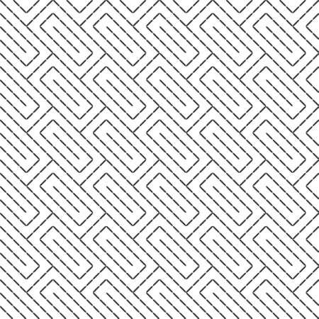 Seamless pattern. Modern stylish texture. Regularly repeating geometrical ornament in the form of diagonal rectangle shapes, strips.Vector element of graphical design