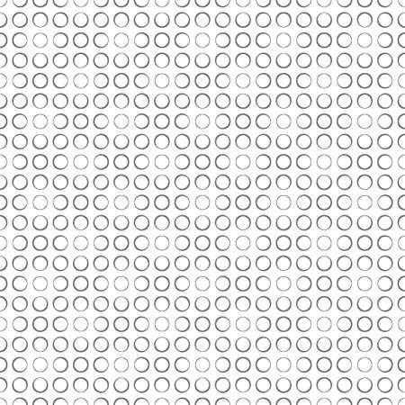Seamless pattern. Classical simple geometrical texture with repeating circles, dots. Surface for wrapping paper, shirts, cloths. Vector element of graphical design 일러스트