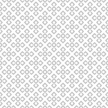 Seamless pattern. Modern stylish texture. Regularly repeating geometrical tiles with corner strips, rhombuses. Vector element of graphical design