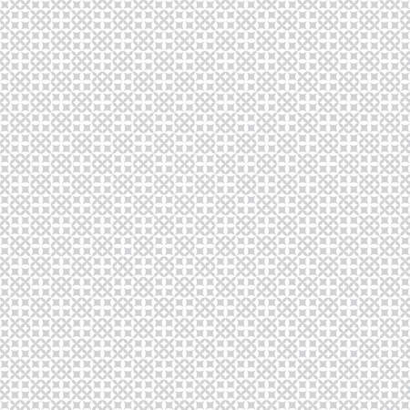 Seamless pattern. Modern stylish texture with regularly repeating geometrical shapes, rhombus, crosses, flowers. Vector element of graphical design