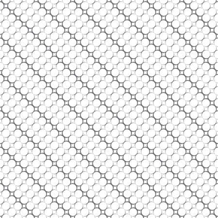 Seamless pattern. Modern stylish texture. Infinitely repeating geometrical texture. Diagonal shapes with outline circles, dots. Vector element of graphical design 일러스트