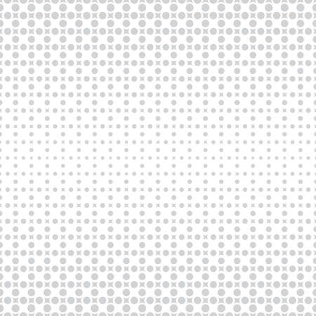 Abstract halftone background. Modern stylish texture. Repeating grid with rhombuses and dots of the different size. Gradation from bigger to smaller.