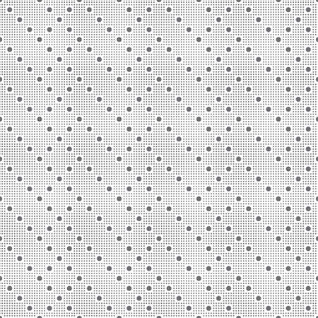 Seamless pattern. Modern stylish texture. Regularly repeating small dotted zigzag shapes, rhombuses, rectangles. Abstract geometrical background.