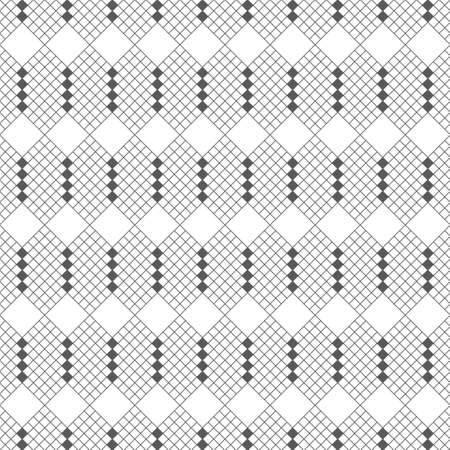 Seamless pattern. Modern stylish geometrical texture. Regularly repeating linear stripd hexagons, rhombuses, diamonds. Illustration