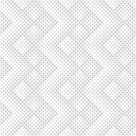 Seamless pattern.Abstract halftone background.Modern stylish texture.Regularly repeating geometric tiles with stars of different size.Gradation from smaller to bigger.