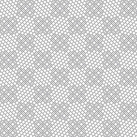 Seamless pattern. Trendy modern geometrical texture with small outline rhombuses and regularly repeating checkered shapes.