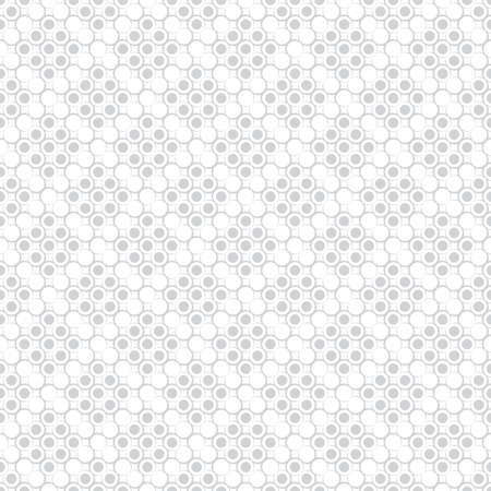 Seamless pattern. Modern stylish texture. Infinitely repeating geometrical texture with dots, outline circles with the decreasing contour thickness. Polka dot. Vector element of graphical design