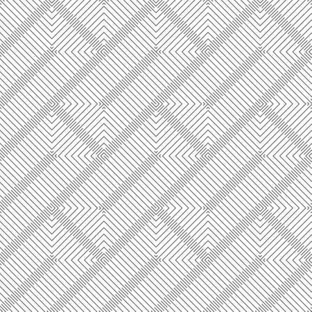 Seamless pattern.Modern stylish geometrical texture.Abstract textured background.Regularly repeating zigzag thin lines, linear rhombuses, diamonds, grids.Outline.Contour.Vector element graphical design Illustration