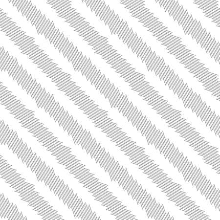 Vector seamless pattern. Modern stylish texture. Regularly repeating geometrical ornament with diagonal thin lines, triangle shapes. Trendy linear abstract background