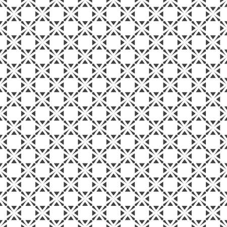 Checkered seamless pattern. Modern stylish geometrical texture. Regularly repeating checks, squares, triangles. Plaid. Vector element of graphical design