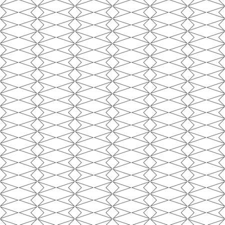 Seamless pattern. Simple stylish texture. Regularly repeating geometric shapes, ovals, ellipses, squares, crosses. Vector element of graphical design
