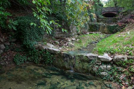cascade: cascade of rocks