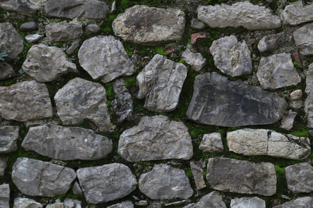 overbuilding: stone wall