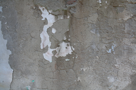 overbuilding: Concrete wall texture with ruined plaster