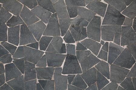 texture of an irregular stone floor