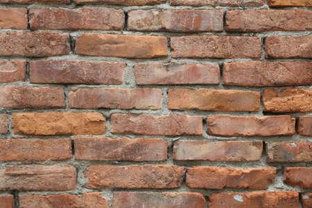 thin red brick texture
