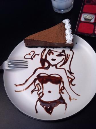 personalized: My personalized cake Stock Photo