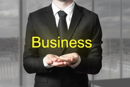 begging: businessman in office begging gesture business