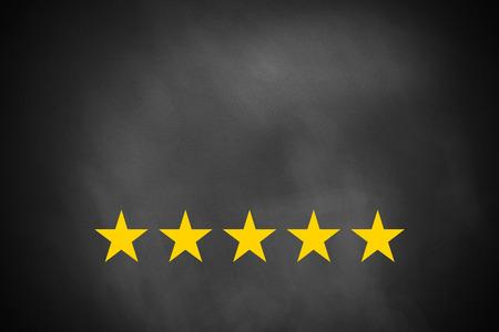 黒い黒板の星 5 黄金の評価