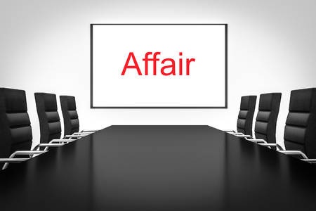 affair: large conference meeting room with whiteboard affair