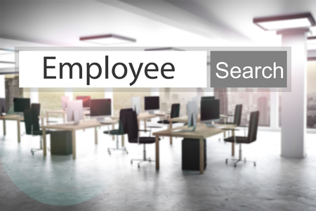 search button: websearch new grey search button employee 3D Illustration