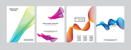 Covers with geometric line shapes. Applicable for Banners, Placards, Posters, Flyers and Banner Designs template.