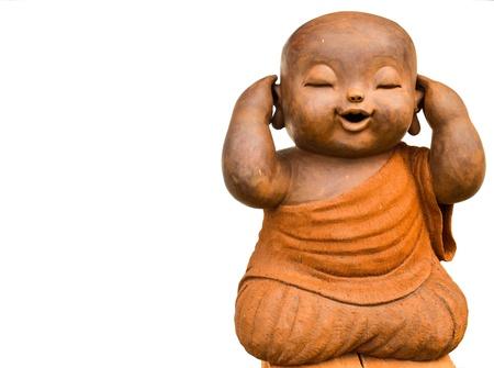 don't: A kid buddha image represent  don t listen