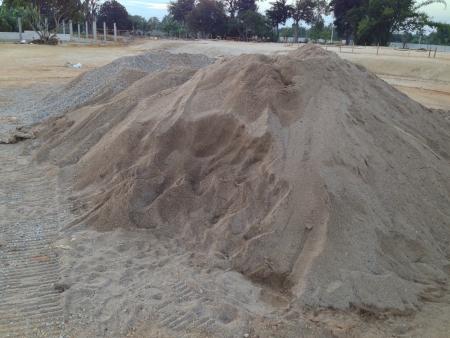 Sand quarry mountain