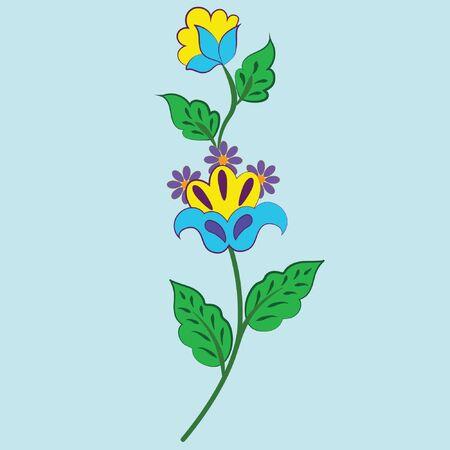 pattern fabric flower