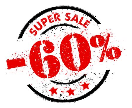 SUPER SALE 60% OFF rubber stamp grunge style